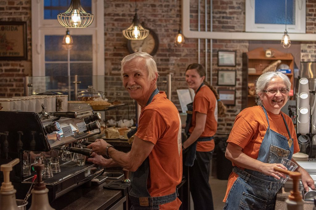Crema Brew coffee shop New Bern